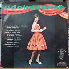 JUDOKADANSE CEINTURE ORANGE CHEESECAKE RETRO COVER 25cm FRENCH LP