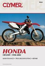 Honda Cr125R, 1998-2002 (Clymer Motorcycle Repair), Wright, Ron, Good Book