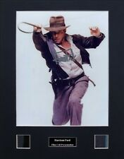 Harrison Ford Ver1 Signed Photo Film Cell Presentation