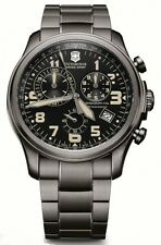 Victorinox Swiss Army 241289 Infantry Vintage Mens Gunmetal Swiss Chrono Watch