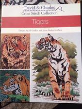 Tigers David & Charles Cross Stitch Collection by Jayne Netley Mayhew