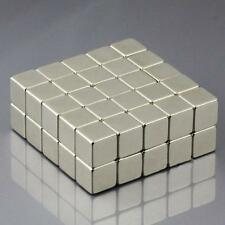 10Pcs Neodymium Block Cube Magnet10x10x10mm N52 Super Strong Rare Earth MagnetsE