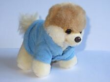 "Boo the Dog   5"" Gund Soft Toy  Itty Bitty Boo in Bathrobe"