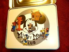 Disney Catalog - Mickey Mouse Club w/TV Tin Boxed Pin Set