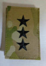 ARMY PATCH, LIEUTENANT GENERAL, OCP PATTERN,MULTICAM, WITH VELCR