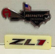 GM# 22830717 OEM ZL1 Grille Emblem (Chrome/Red) for Camaro by Chevrolet