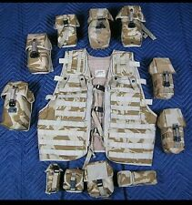 NEW Osprey Mk1 British Military Molle Vest in Desert DPM with 11 Pouches