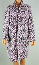 Womens Plush Robe Pink Leopard Print Mix | Co Size X-Large Polyester JARFF