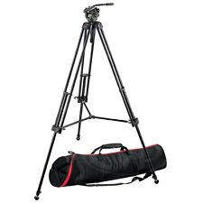 Manfrotto 546B Pro Video Tripod with 501HDV and Dual Pan Handles