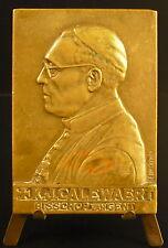 Medaille JK Calewaert Eveque de Gant Bishop van Gent Belgique Belgium 1958 medal