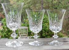 1 Iced Tea & 2 Wine Glasses in the Viscount (old) pattern by Gorham