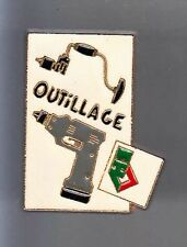 RARE PINS PIN'S .. AGRICULTURE BTP TRACTEUR TRACTOR OUTIL TOOL PERCEUSE BHV ~BG