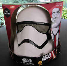 Star Wars Stormtrooper Adult (One Size) 2 piece Deluxe Helmet