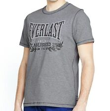 Everlast M Mens SS Grey Marl T-Shirt Bnwt Brand New Limited Edition Top Boxing