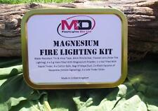 MD MAGNESIUM FIRE LIGHTING/STARTING KIT IDEAL FOR SURVIVAL/BUSHCRAFT KITS