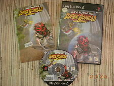 PLAYSTATION 2 PS2 STAR WARS  SUPER BOMBAD RACING CARRERAS USADO BUEN ESTADO