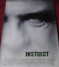 Cinema Poster: INSTINCT 1999 (One Sheet) Anthony Hopkins Cuba Gooding Jr.