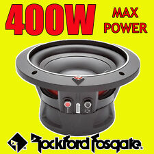 "ROCKFORD FOSGATE 8 "" 8 Pollici 400 W Car Audio PUNCH BASS SUB SUBWOOFER 20cm 4ohm"