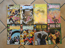 LOTTO 8 FUMETTO lingua inglese DC COMICS THE WORLD NEEDS HEROES F20