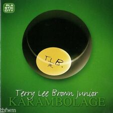PLASTIC CITY - Terry Lee Brown Junior Karambolage CD Album TECH HOUSE DEEP HOUSE