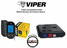 Viper 5706V 2 Way LCD Remote Starter Car Alarm w/ DBALL2 Bypass Interface