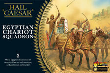 EGYPTIAN CHARIOT SQUADRON- HAIL CAESAR - WARLORD GAMES - 1ST CLASS-