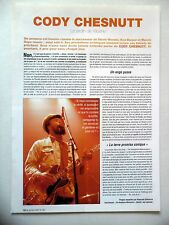 COUPURE DE PRESSE-CLIPPING : CODY CHESNUTT  2004 The Headphone Masterpiece