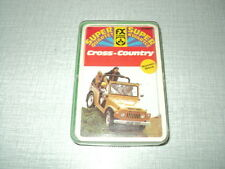 *JEU DE CARTES CROSS-COUNTRY TRANSKALAHARI RALLYE-SBARRO WINDHOUND-SAVANNA