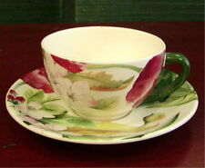 Gien China Volupte Cup & Saucer NEW
