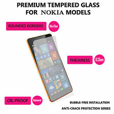 100% Genuine Tempered Glass Screen Protector Case For Nokia Lumia 650