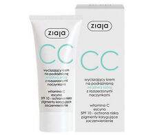 ZIAJA beruhigende CC CREME empfindliche Haut mit Kapillaren SPF 10 50 ml
