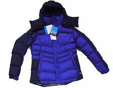 NEW Columbia Down Jacket Omni-Heat Omni-Wind-Block Winter Purple Womens S