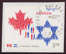 Canadá 2010 Canadá Israel Sello de folleto Fine Used