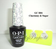OPI GelColor Hello Kitty 2016 Charmmy & Sugar GC H81 Soak Off LED/UV Gel .5oz