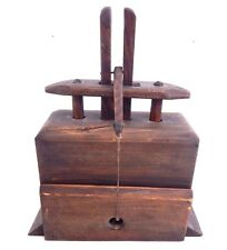 Antique Vintage Early Folk Art Wood Mouse Trap