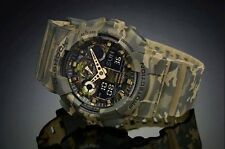 Casio G Shock * GA100CM-5A Camo Series XL Woodland Brown Gshock COD PayPal