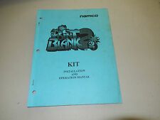 POINT BLANK 2 KIT NAMCO   arcade game owners manual