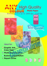 80Sheets 150g A4 Double side Gloss photo paper for inkjet printer use
