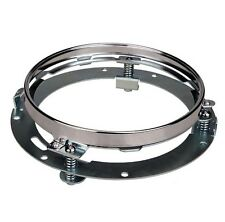 """7"""" Motorcycle Chrome Daymaker Headlight Extension Trim Ring Bracket For Harley"""