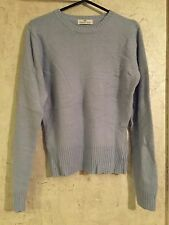 Essentials Women Jumper Lilac Blue Knit Warm With Wool Size 10-12 (8)