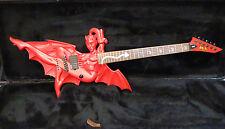Esp-Ltd Diablo Chica Guitarra-muy Raro-Guitarra De Edición Limitada