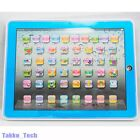 Y Pad English Learning Computer Education ABC Toy Tablet Gift for Kids Blue