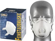 5 Stück Feinstaubmaske TECTOR 4236, FFP3 mit Ventil, nach EN 149, Atemschutz P3