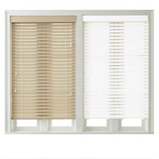 2 Inch Faux Wood Blinds with Valance - Two Colors Available