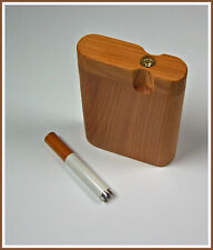 "Handcrafted 3"" Cherry Dugout with Cigarette Bat"
