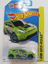 HOT WHEELS 2015  HW OFF ROAD - ROAD RALLY- '12 FORD  FIESTA
