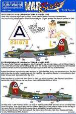 Kits World Decals 1/32 BOEING B-17G FLYING FORTRESS Little Patches