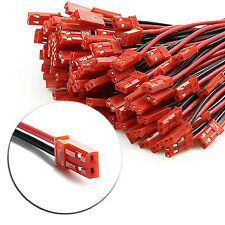 Newest 10 Pairs 22AWG Plug JST socket Connector Cable Wire Line 10cm Male Female