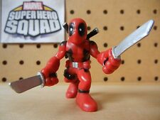 Marvel Super Hero Squad DEADPOOL w/ Swords from Wolverine Wave 1: Uncanny X-Men