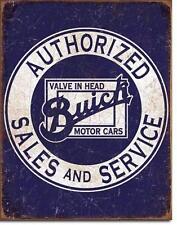 Buick Cars USA Sales and Service Vintage Style Metall Händler Werkstatt Schild